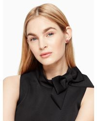 kate spade new york - Black Bangle And Stud Box Set - Lyst