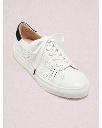 Kate Spade White Aaron Sneakers