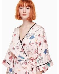 Kate Spade Pink Honeymoon Robe