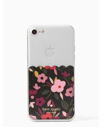 Kate Spade - Multicolor Boho Floral Sticker Pocket - Lyst