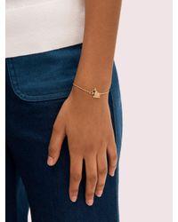 Kate Spade Metallic Milo Armband Mit Schiebeverschluss