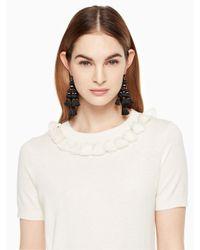 Kate Spade Multicolor Tassel Sweater
