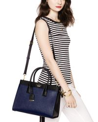 Kate Spade - Blue Cameron Street Candace Satchel - Lyst