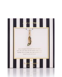kate spade new york - Multicolor Pearl Charm - Lyst