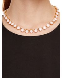 kate spade new york | Pink Fancy That Necklace | Lyst