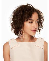 Kate Spade - Multicolor Lantern Gems Large Chandelier Earrings - Lyst