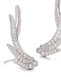 Kendra Scott - Metallic Daphne Ear Climbers In Silver - Lyst