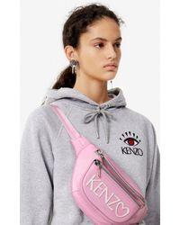Sweatshirt 'Cupid' à capuche 'Capsule Back from Holidays' KENZO en coloris Gray