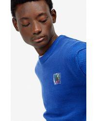 Pull 'Square Logo' KENZO pour homme en coloris Blue