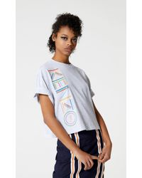 8042d8b0ff KENZO 'high Summer Capsule Collection' Boxy T-shirt With Logo in ...