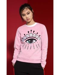 KENZO Pink Eye Sweatshirt