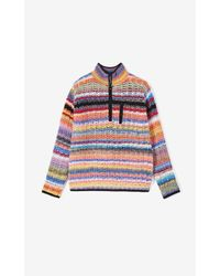 Pull à rayures multicolores KENZO pour homme