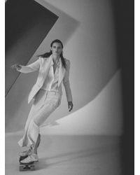 Khaite - White The Serena Top - Lyst