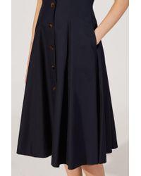 Khaite - Blue The Marilyn Dress - Lyst