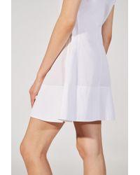Khaite - White The Briana Dress - Lyst