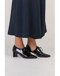 Clergerie - Black Suzanne Heeled Oxford - Lyst