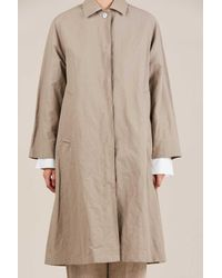 Horses Atelier - Natural Trench Coat - Lyst