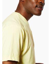 Stone Island - Yellow Tee Lemon for Men - Lyst