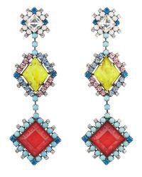 DANNIJO Multicolor Tucan Earrings