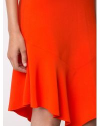 Givenchy - Black Sleeveless Asymmetric Hem Dress - Lyst