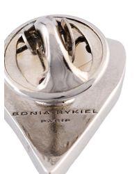 Sonia Rykiel - Multicolor Heart Pin - Lyst