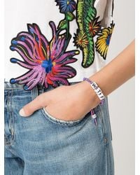 Venessa Arizaga - Blue Wtf Bracelet - Lyst