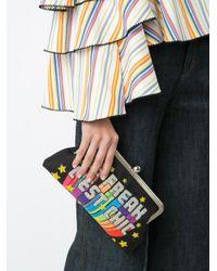 Sarah's Bag Multicolor 'le Freak' Clutch