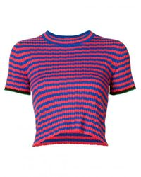 Proenza Schouler | Multicolor Striped Knit Top | Lyst