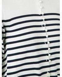 Sacai - Multicolor Striped Cardigan - Lyst