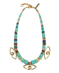 Lizzie Fortunato | Multicolor Eye Of The Sea Necklace | Lyst