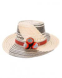 Yosuzi - Multicolor Koa Immortal Star Pom Pom Hat - Lyst