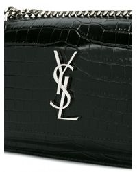 Saint Laurent Black Sunset Monogram Bag