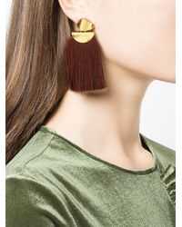 Lizzie Fortunato - Multicolor Crater Tassel Earrings - Lyst