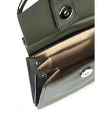 Chloé - Green Mini Faye Shoulder Bag - Lyst