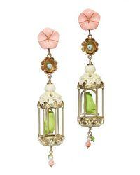 Of Rare Origin - Multicolor Aviary Classic Earrings - Lyst
