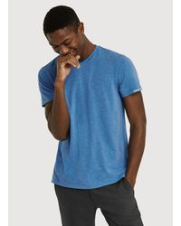 Kit and Ace - Blue Ace V Tee for Men - Lyst