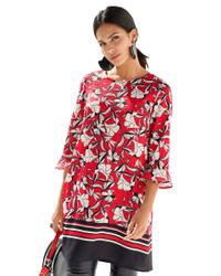 Amy Vermont Blouse in het Red