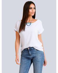 Alba Moda Shirt in het White