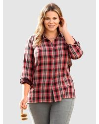 m. collection Blouse in het Red