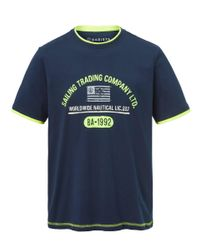 Babista T-shirt in het Blue voor heren