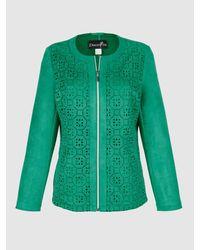 Dress In Jas Groen in het Green