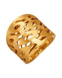 Diemer Gold Damesring in het Metallic