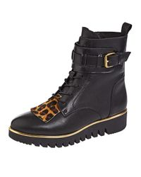 Filipe Shoes Veterlaarsje in het Black