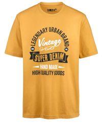 Men Plus T-Shirt in Multicolor für Herren