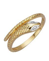 KLiNGEL Ring Slang in het Metallic