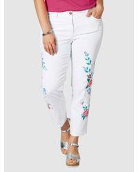 Janet & Joyce Jeans in het White