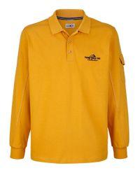Roger Kent Poloshirt in het Yellow voor heren