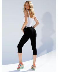 Amy Vermont Capri-jeans in het Black