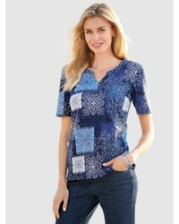 Paola Shirt Blauw in het Blue