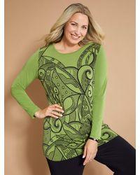 MIAMODA Shirt in het Green